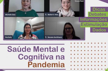 LIVE – Saúde Mental e Cognitiva na Pandemia – Parceria Conectare NeuroPsi e SESC/RS
